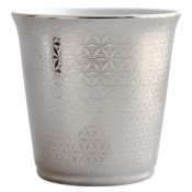 Divine Tumbler, 9cm, 200ml with Amande Angelique Scented Candle