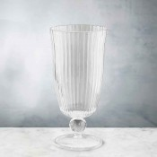 Venice - Set/4 Acrylic All Purpose Footed Tumbler/Iced Beverage Glass, 18.5cm, 470ml