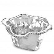 Metal Oval Ice Bucket, 34.5x30.5cm