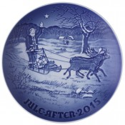2015 Christmas Plate, 18cm - Santa's Presents