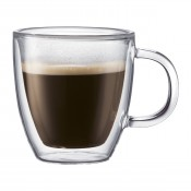 Bistro - Set/2 Double Wall Espresso Mugs, 8.5cm, 150ml