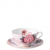 Cup & Saucer, 180ml - Pink