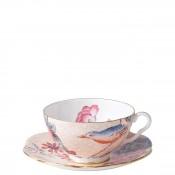 Cup & Saucer, 180ml - Peach