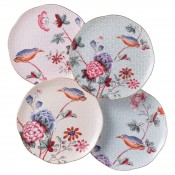 Set/4 Tea Plates, 20cm