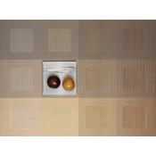 Rectangular Placemat, 48x35.5cm - Gold