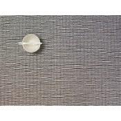 Rectangular Placemat, 48x35.5cm - Caviar