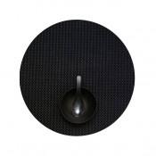Round Placemat, 38cm - Black