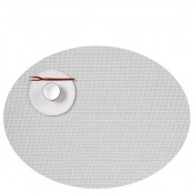 Oval Placemat, 49x35.5cm - White