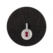 Round Placemat, 38cm - Smoke