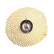 Round Placemat, 38cm - Gold