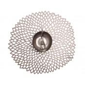 Round Placemat, 38cm - Gunmetal
