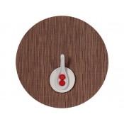 Round Placemat, 38cm - Brick