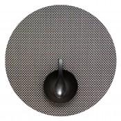 Round Placemat, 38cm - Titanium