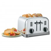 Metal Classic 4-Slice Toaster
