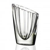 Slanted Oval Vase, 25cm