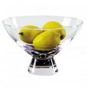 Pedestal Crystal Bowl, 23cm