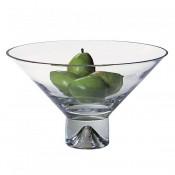 Pedestal Crystal Bowl, 30.5cm
