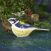 Garden Great Tit Paperweight, 6cm