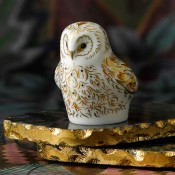 Owlet Paperweight, 6cm