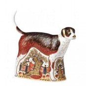 Foxhound Paperweight, 15.5cm