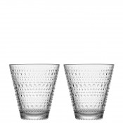 Set/2 Tumblers, 10cm, 300ml - Clear