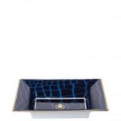 Rectangular Vide Poche/Jewelry Tray, 19x15cm - Sapphire