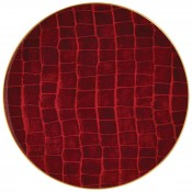 Charger/Service Plate, 32cm - Ruby