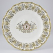 Longest Reigning Monarch Commemorative Plate, 21.5cm