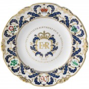 Queen Elizabeth II 90th Birthday Talbot Plate, 21.5cm