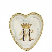 2018 Royal Wedding - Heart Tray, 10x9cm