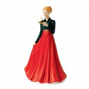 2015 Christmas Petite Figurine of the Year - Christmas Eve, 17cm - HN 5732