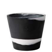 "Flower Pot, 12.5cm (5"") - Black"