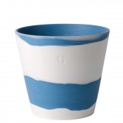 "Flower Pot, 15cm (6"") - Wedgwood Blue"