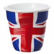 U.K. Flag Crumpled Espresso Cup, 5.5cm, 80ml