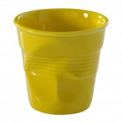 Yellow Crumpled Espresso Cup, 5.5cm, 80ml