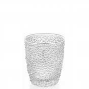 Set/4 Tumblers/Double Old Fashioned Glasses, 9.5cm, 270ml - Clear