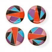 Coasters Multi,Harlequin