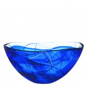 Decorative Bowl, 35cm - Blue