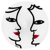 Round Dish/Low Bowl, 31cm - White