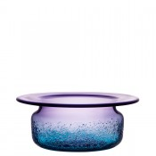 Decorative Bowl, 34cm - Blue/Violet