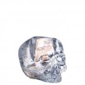 Skull Votive Candleholder, 11cm - Clear