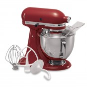 Artisan Series Tilt-Head Stand Mixer, 5-Quarts - Red