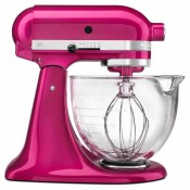 Architect - Tilt-Head Stand Mixer with Glass Bowl, 4.7L (5Qt) - Raspberry