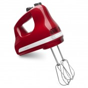 5-Speed Ultra Power Hand Mixer - Red