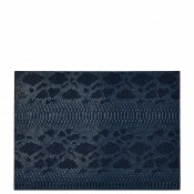 Set/4 Rectangular Placemats, 45.5x33cm - Midnight