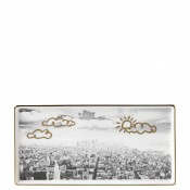Rectangular Porcelain Hors D'Oeuvres Tray, 25x12.5cm