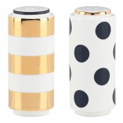 Dot Stripe Salt & Pepper Shakers, 9cm