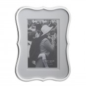 "Silver Plate Photo/Picture Frame, 10x15cm (4""x6"")"