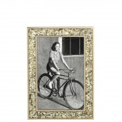 "Glitter Photo/Picture Frame, 10x15cm (4""x6"") - Gold"