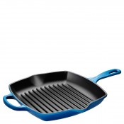 Cookware - Iron Handle Square Skillet Grill, 26cm